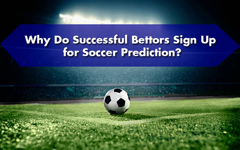 Why Do Successful Bettors Sign Up for Soccer Prediction?